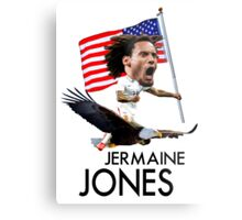 Jermaine Jones USMNT Metal Print