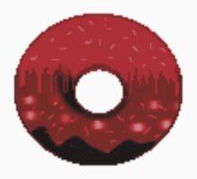 Volcanic doughnut scenery  One Piece - Short Sleeve
