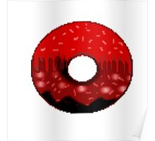 Volcanic doughnut scenery  Poster