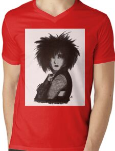 Siouxsie Sioux Mens V-Neck T-Shirt