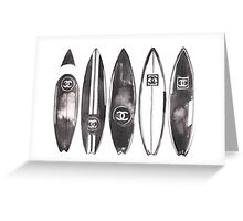 surf #fashion {summer} Greeting Card