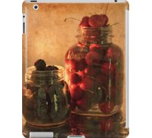 Memories - Homemade - Jambs, Cobblers and Preserves iPad Case/Skin