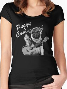 Puggy Cash Women's Fitted Scoop T-Shirt