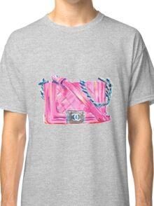 Pink-Bag Classic T-Shirt