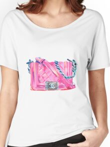 Pink-Bag Women's Relaxed Fit T-Shirt