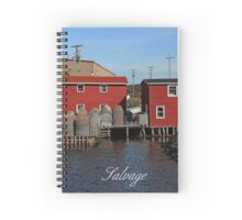 Salvage,  Newfoundland/Labrador Spiral Notebook