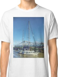 Reedham Swing Bridge and Jo-lene Classic T-Shirt