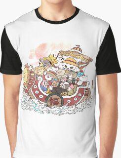 Neko Takarabune Graphic T-Shirt