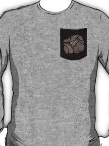 Pokemon Rock Type Pocket T-Shirt