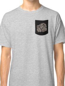 Pokemon Rock Type Pocket Classic T-Shirt