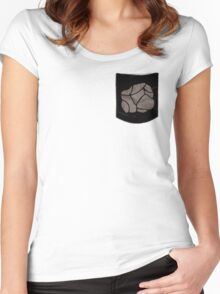 Pokemon Rock Type Pocket Women's Fitted Scoop T-Shirt