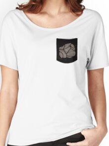 Pokemon Rock Type Pocket Women's Relaxed Fit T-Shirt