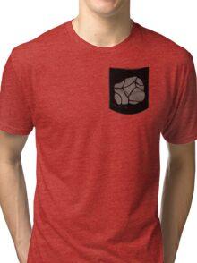 Pokemon Rock Type Pocket Tri-blend T-Shirt