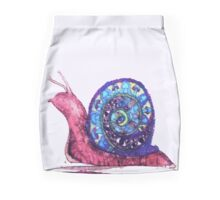 Trippy Snail Mini Skirt