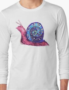 Trippy Snail Long Sleeve T-Shirt