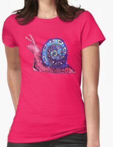Trippy Snail Womens Fitted T-Shirt
