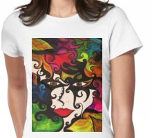 ♥ Uplifting Vibrational Art & Photography ♥  Womens Fitted T-Shirt