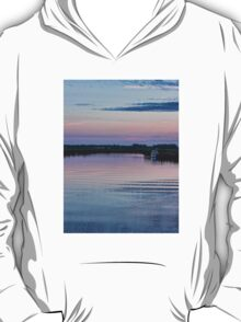 Sunset on the River Yare T-Shirt