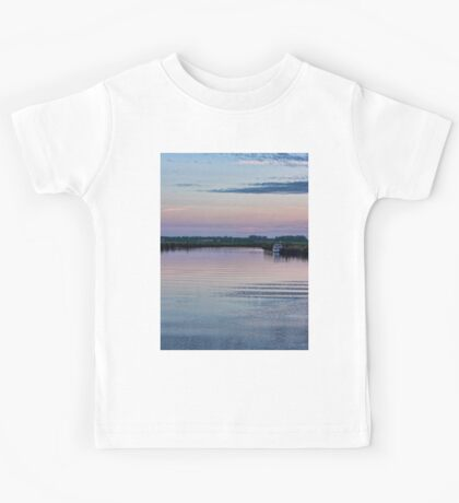 Sunset on the River Yare Kids Tee