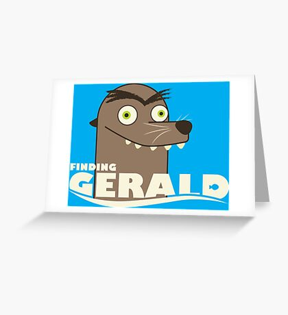 Finding Gerald Greeting Card