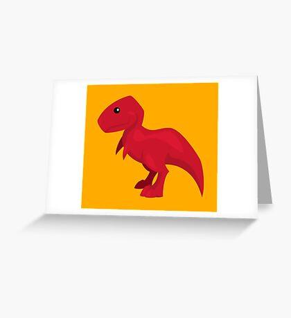 Rex Greeting Card