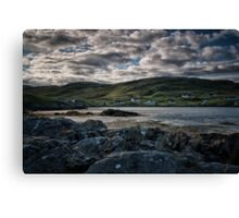 Early Morning in Castlebay, Barra Canvas Print