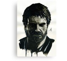Joel from The Last of Us Canvas Print
