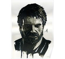 Joel from The Last of Us Poster
