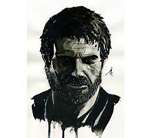 Joel from The Last of Us Photographic Print