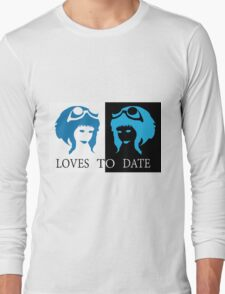 Loves to Date (Ramona Flowers) Long Sleeve T-Shirt