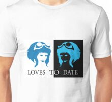 Loves to Date (Ramona Flowers) Unisex T-Shirt