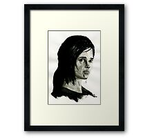 Ellie from The Last of Us  Framed Print