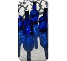 five blue bottles iPhone Case/Skin