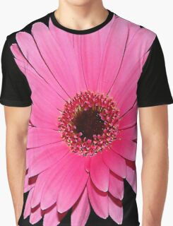 Floral Pink Beauty Graphic T-Shirt