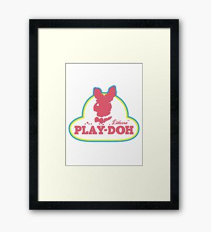 Play-doh  Framed Print