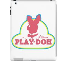 Play-doh  iPad Case/Skin