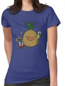 Pineapple :: Carnivorous Foods Series Womens Fitted T-Shirt