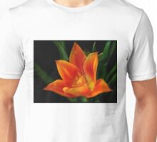Orange Flower (full view) Unisex T-Shirt
