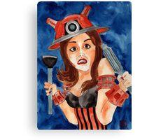 Dalektable Canvas Print