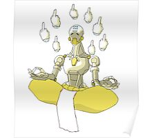 Zenyatta - To Hell with Tranquility Poster
