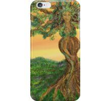 Tree Goddess of Fertility iPhone Case/Skin