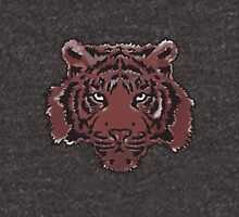 Red Abstract Tiger Unisex T-Shirt