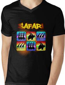 Safari Windows Mens V-Neck T-Shirt