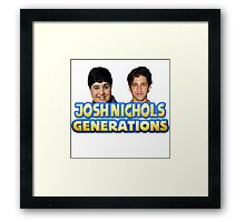 Drake and Josh - Josh Nichols Generations Framed Print