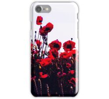 Sea of Poppies iPhone Case/Skin