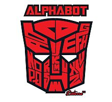 Alphabot Photographic Print