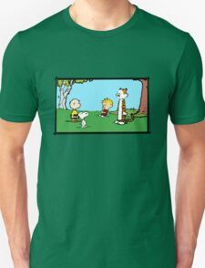 Unlikely Meeting Unisex T-Shirt