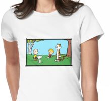 Unlikely Meeting Womens Fitted T-Shirt