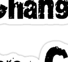 A Change Is Gonna Come T-Shirt - Sam Cooke Inspired Civil Rights Anthem Sticker