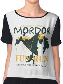 Mordor Fun Run Chiffon Top